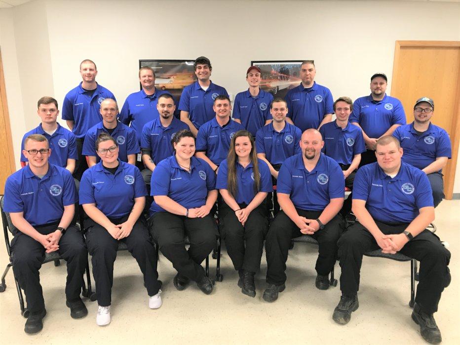 Semester I and II Paramedic class_June 2019