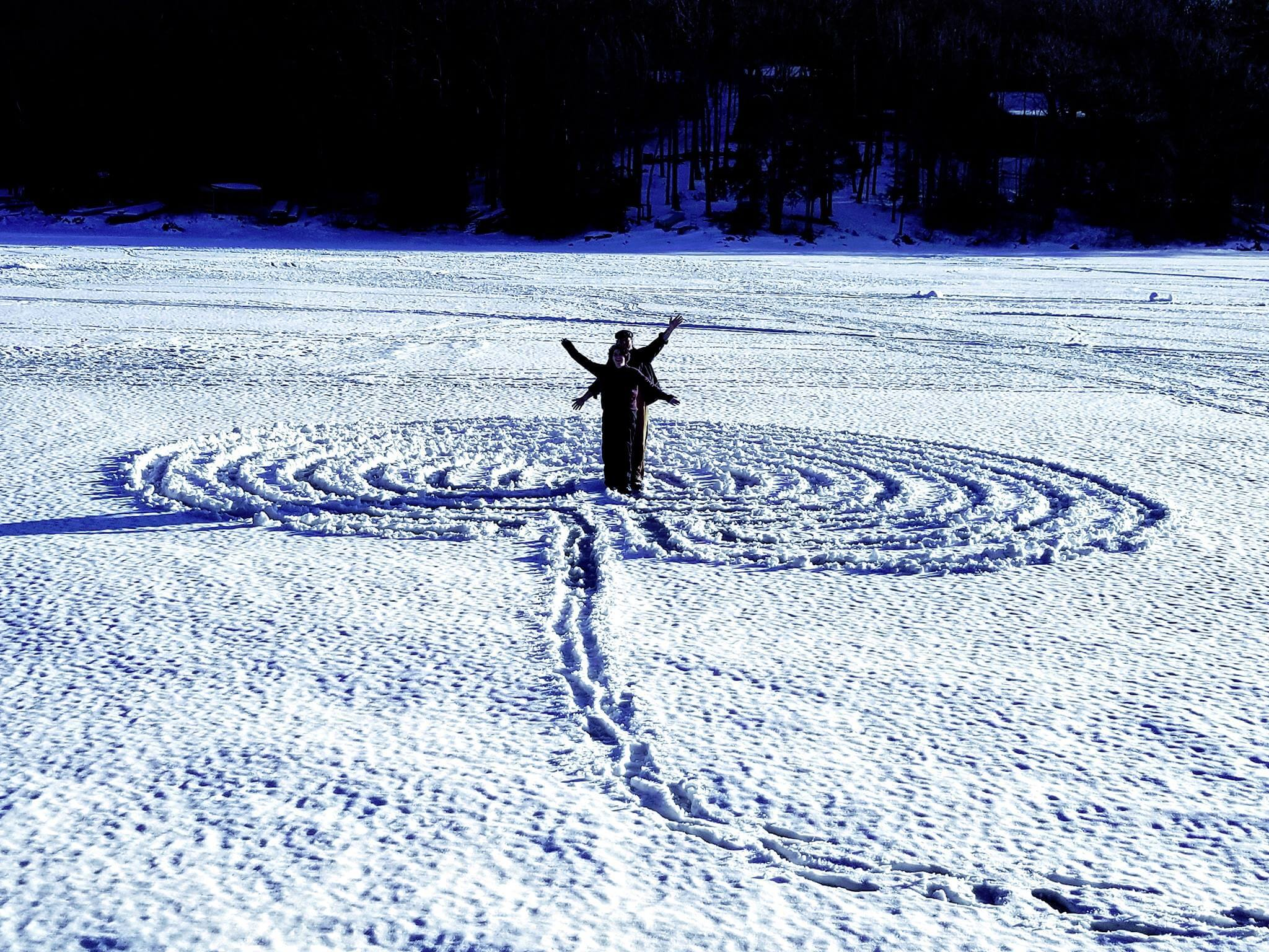 Shane Odom Labyrinth at Deep Creek Lake State Park