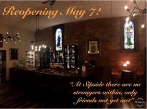 Sipside Lounge Reopening on May 7th!