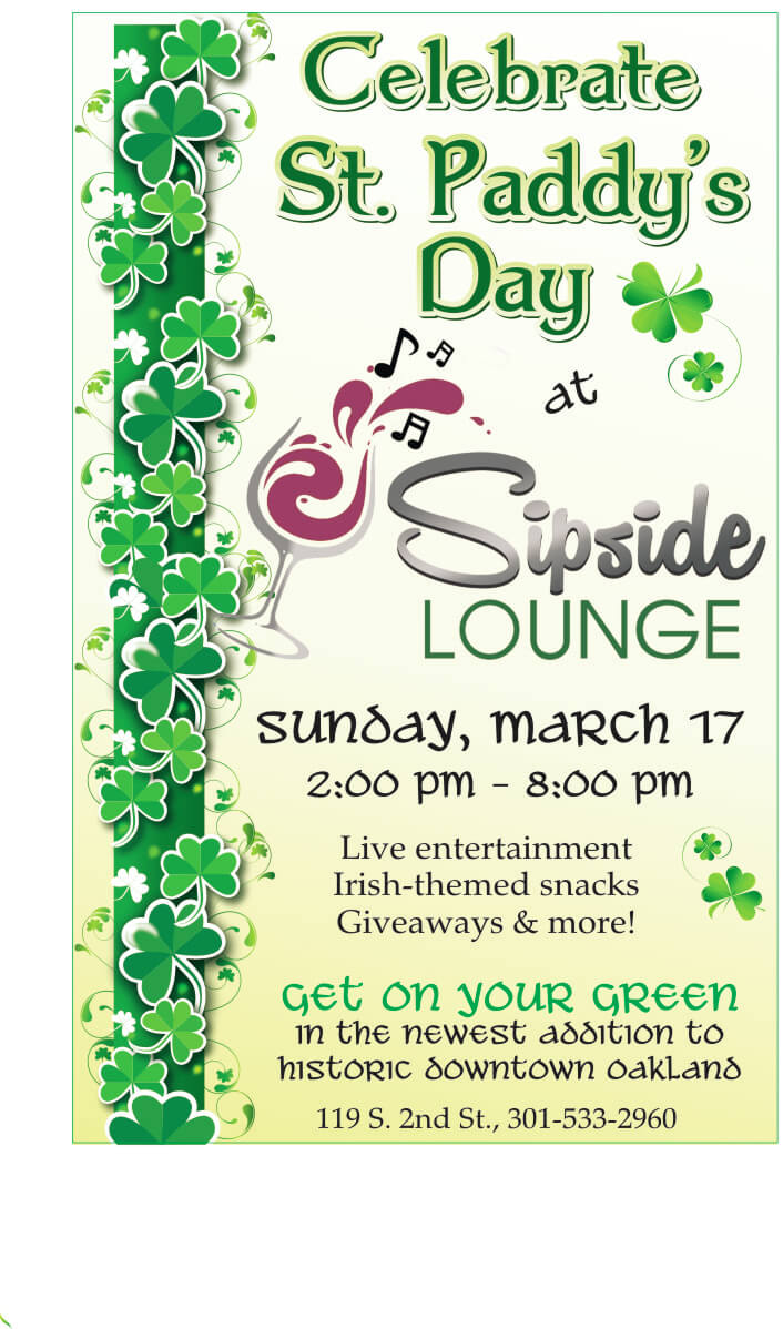 Sipside Lounge St Patricks Day Event