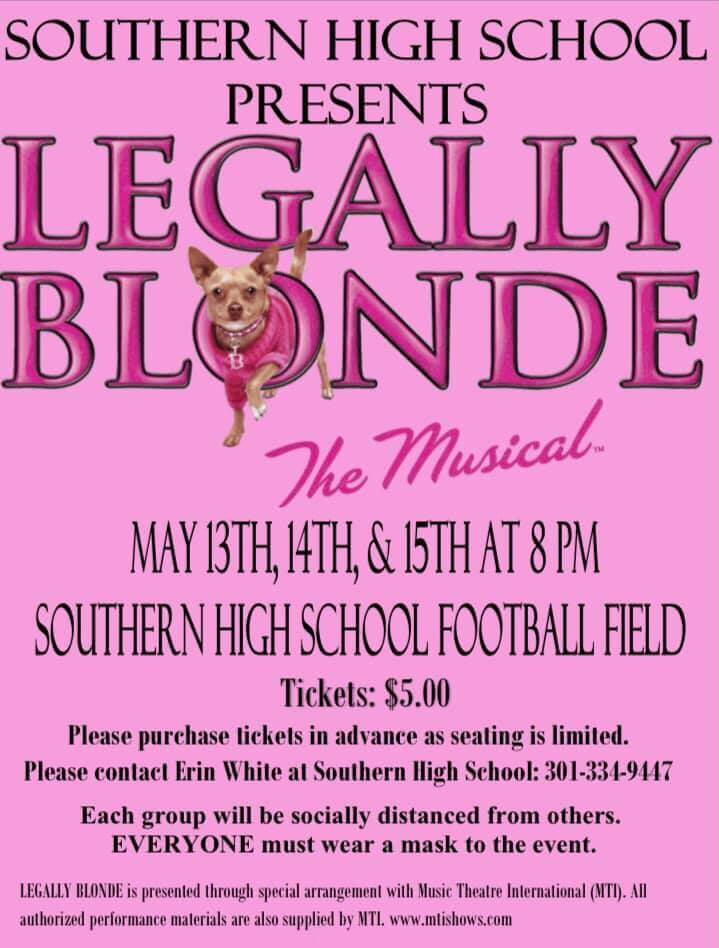 Southern High School: Legally Blonde