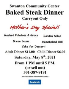 Swanton Community Center: Mother's Day Special