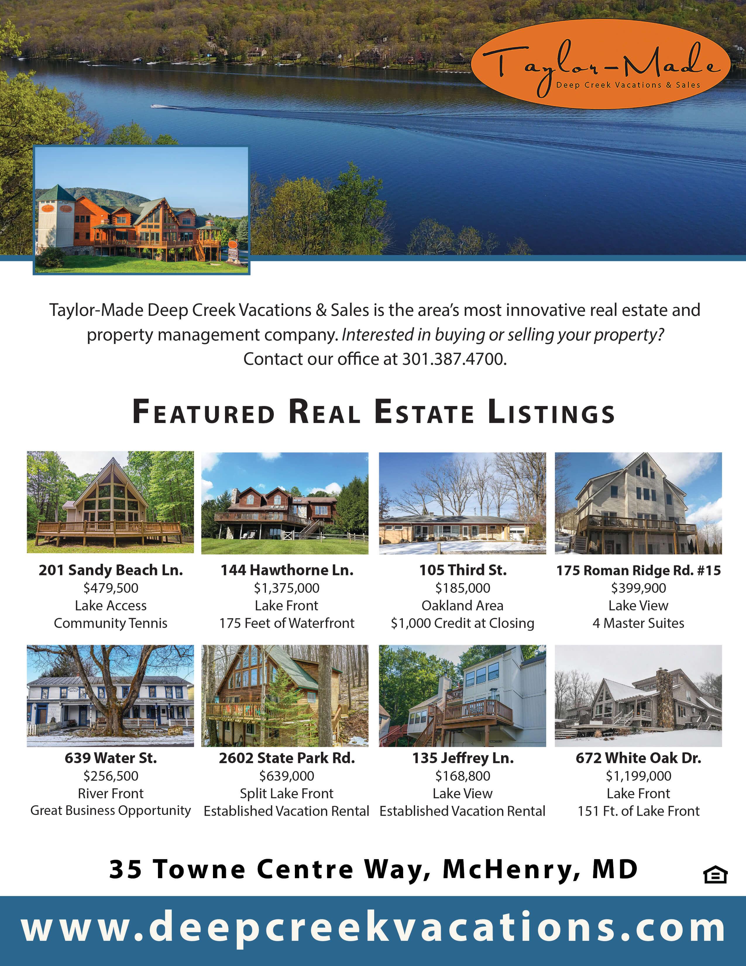 Taylor-Made Real Estate April 2019