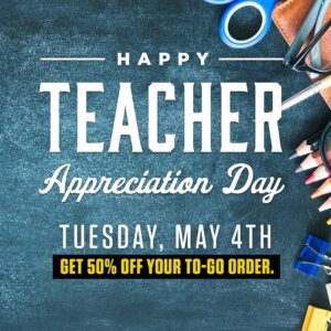 The Green Turtle: Teacher Appreciation Day