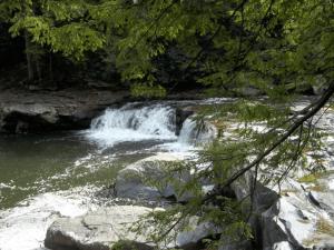 Tolliver Falls near Deep Creek Lake, MD