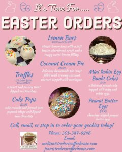 Traders Coffee House - Easter Orders