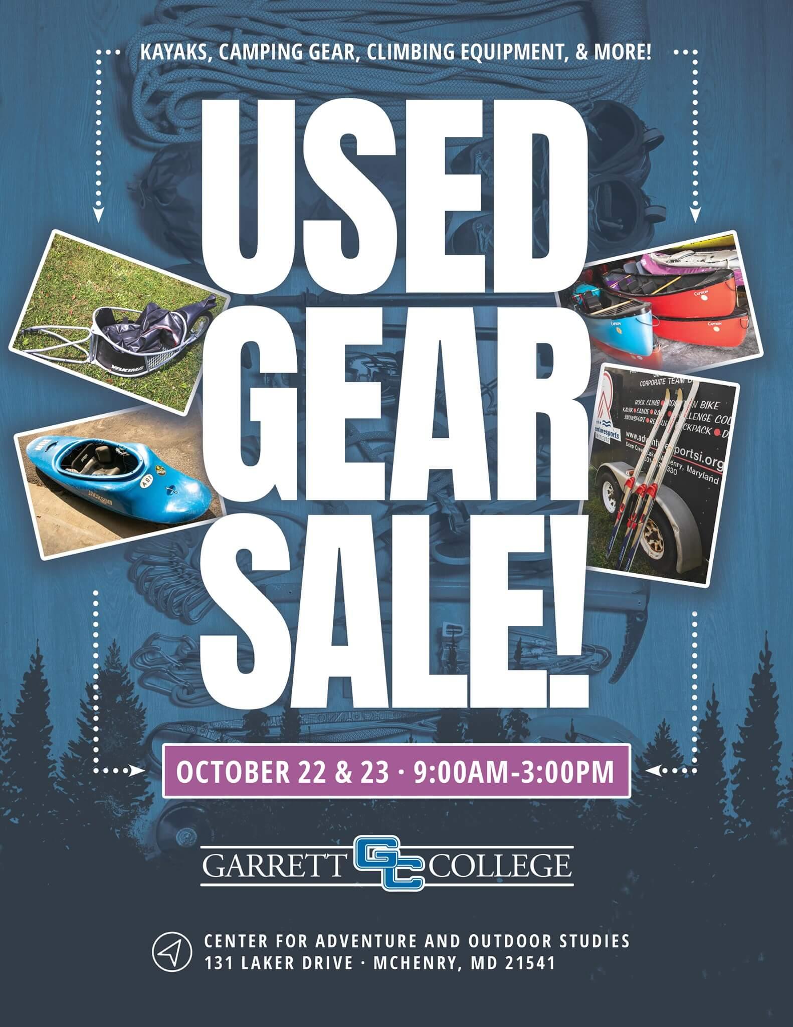 Used Gear Sale