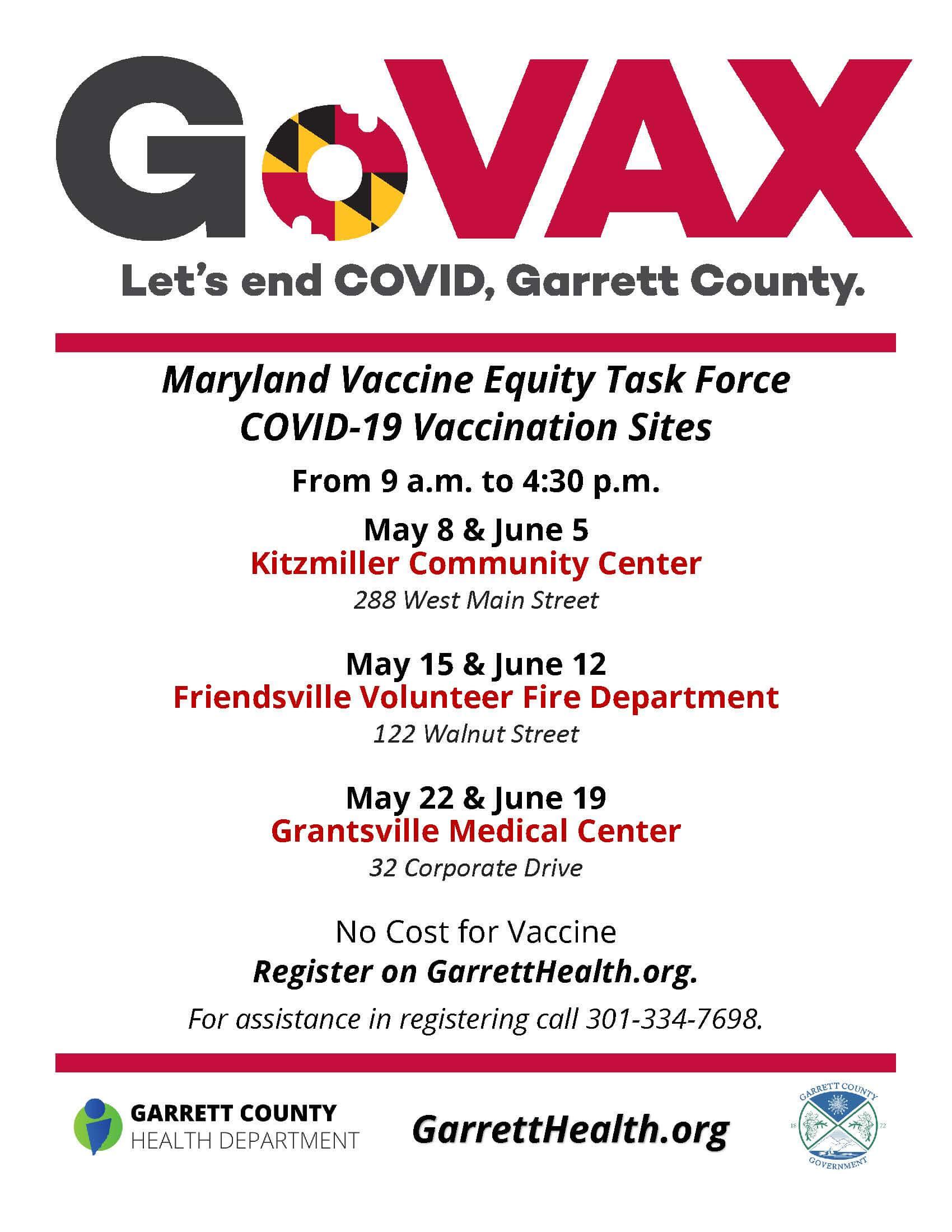Vax Equity Task Force Flier
