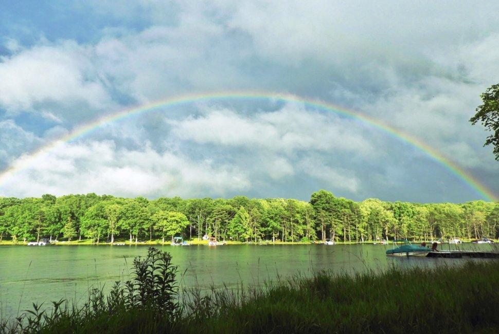 Vicki Schwinabart Rainbow at Deep Creek Lake, MD