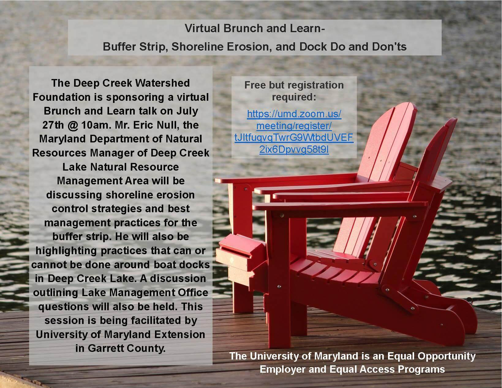 Virtual Brunch and Learn