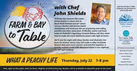 What A Peachy Life: Farm & Bay to Table (Online)