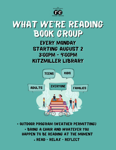 What We're Reading Book Group