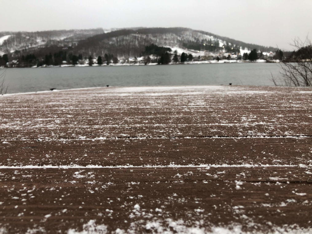 Winter Deep Creek Lake, MD