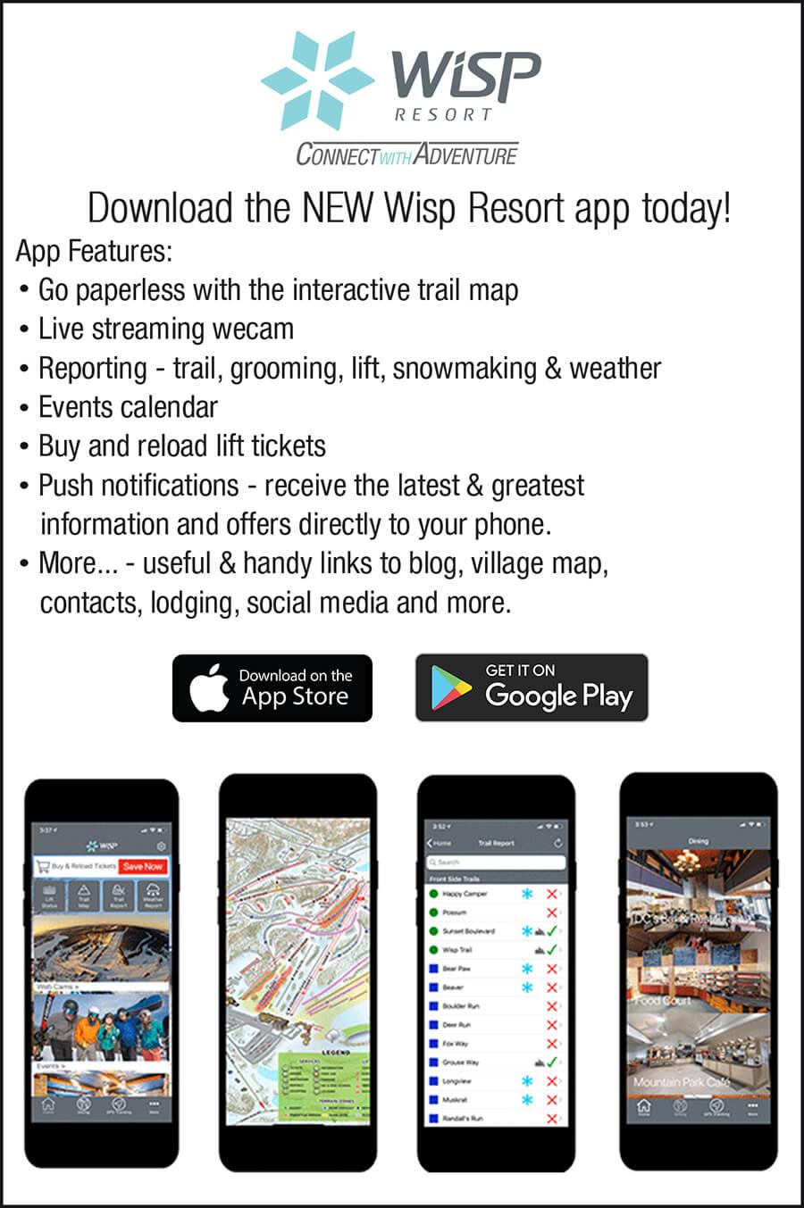 Wisp Resort App