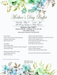 Wisp Resort: Mother's Day Buffet