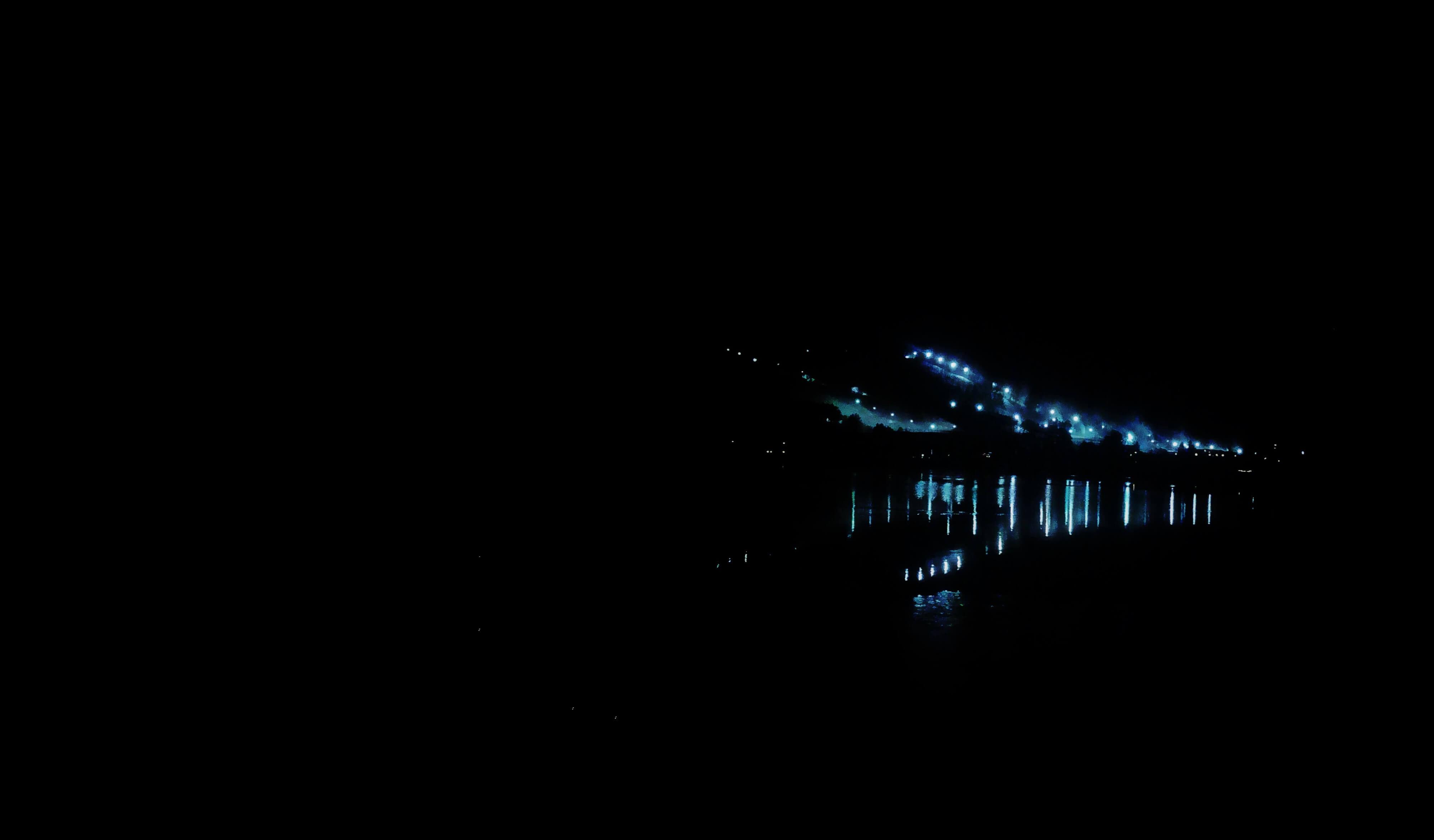 Wisp Resort at Night at Deep Creek Lake, MD