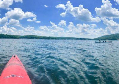 Kayaking on Deep Creek Lake