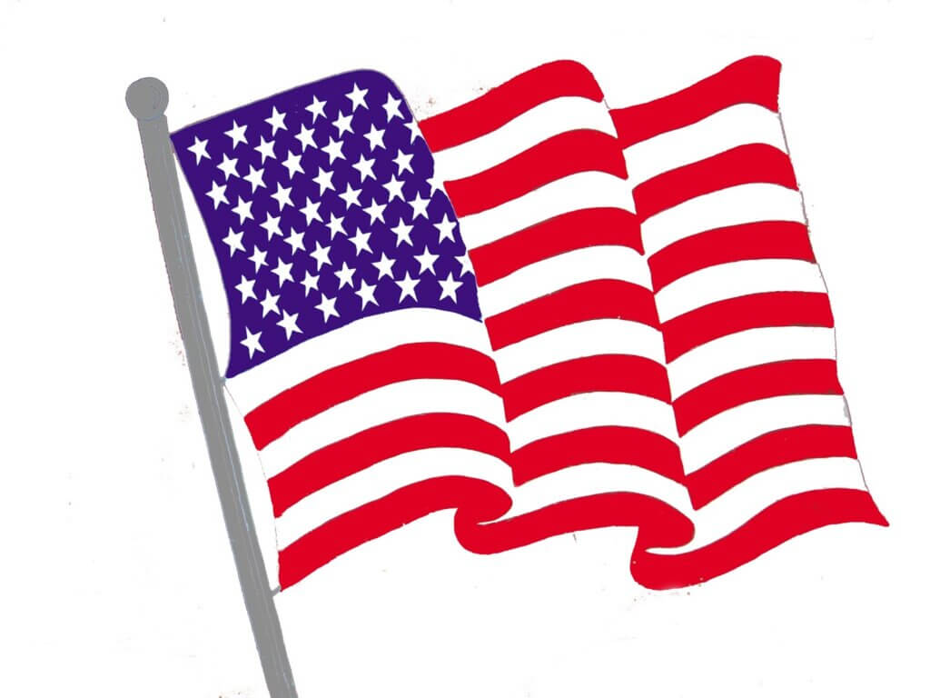 free flag clip art