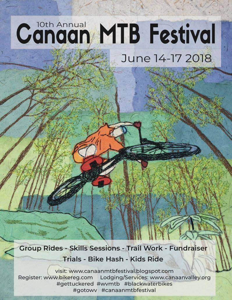 Canaan Mountain Bike Festival Poster