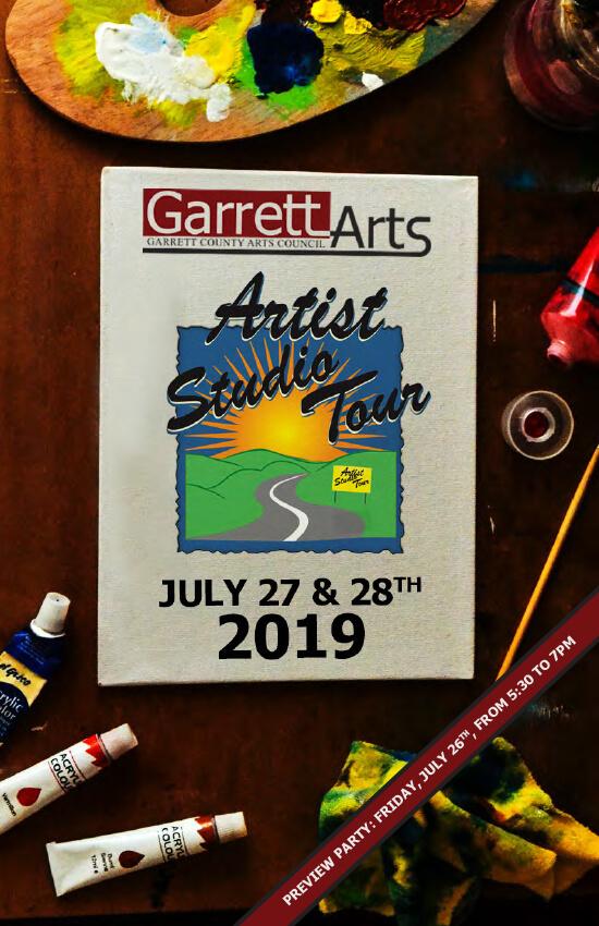 GCAC Artist Studio Tour Brochure