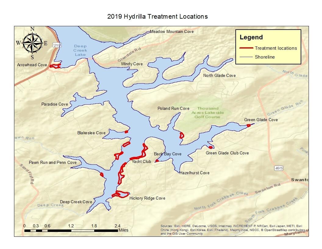 hydrilla-treatment-locations-deep-creek-lake,-md