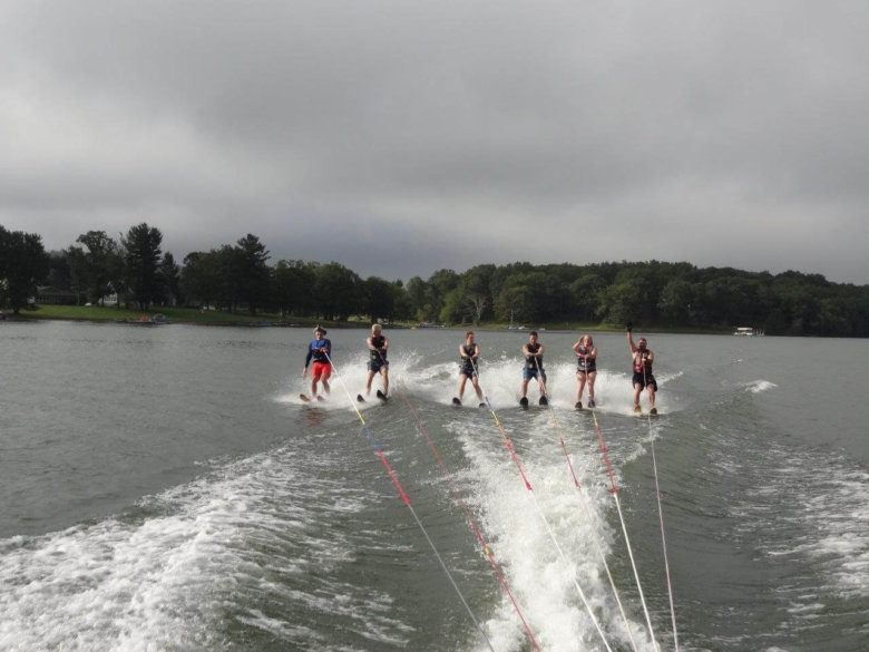 Kathy Barach Labor Day Ski at Deep Creek Lake