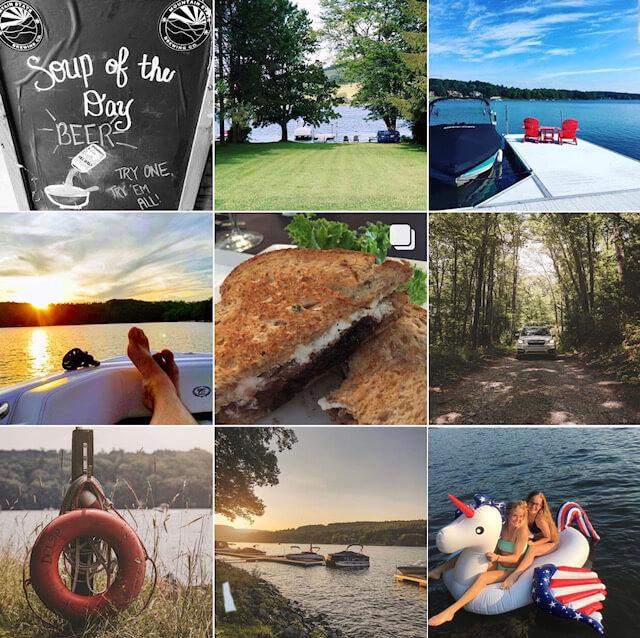 Deep Creek Times Instagram Grid